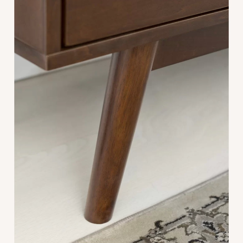 Wayfair Solid Walnut Wood Veneer TV Stand - image-4