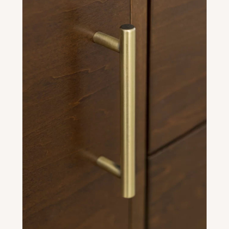 Wayfair Solid Walnut Wood Veneer TV Stand - image-2