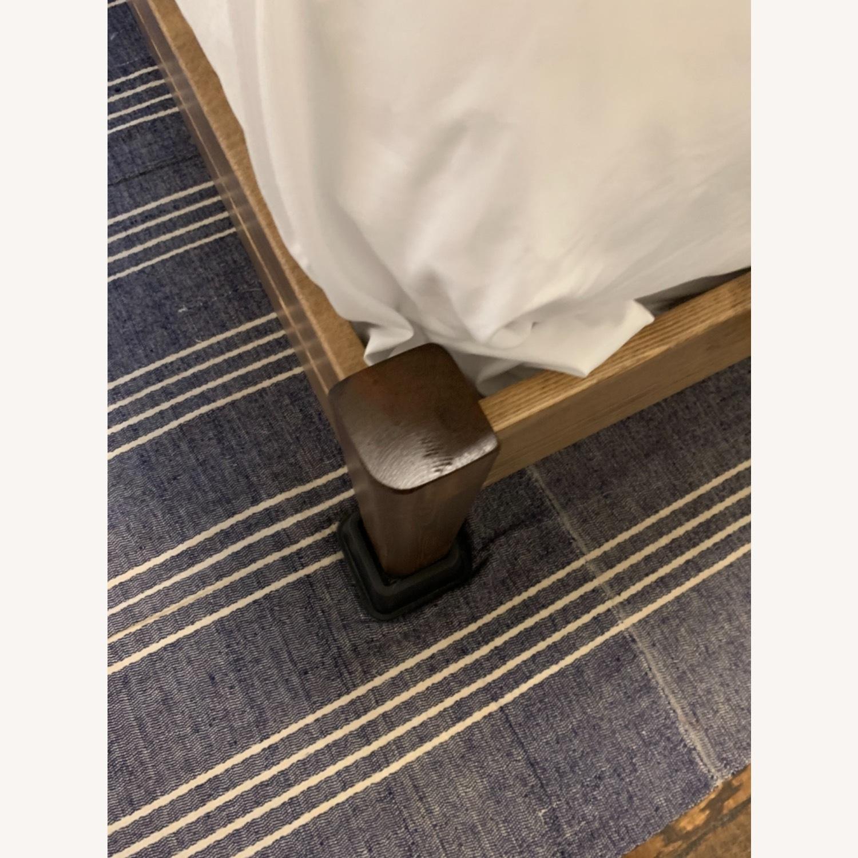 Real Wood Full Bed Frame Scandinavian - image-5