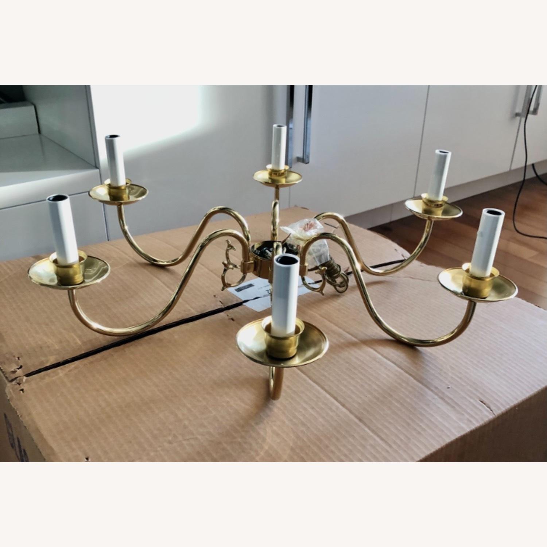 Brass Candelabra Usa Made - image-2