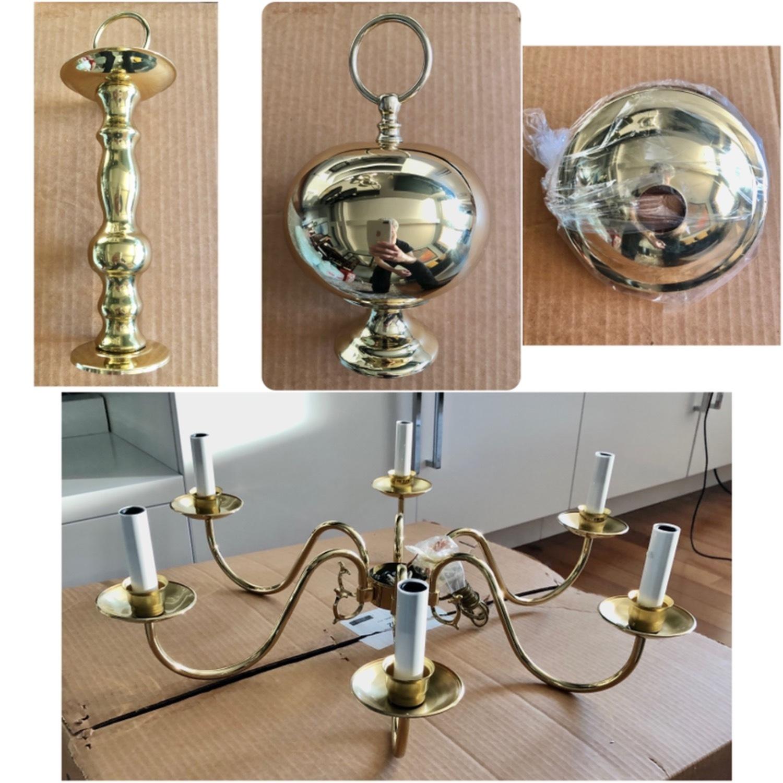 Brass Candelabra Usa Made - image-3