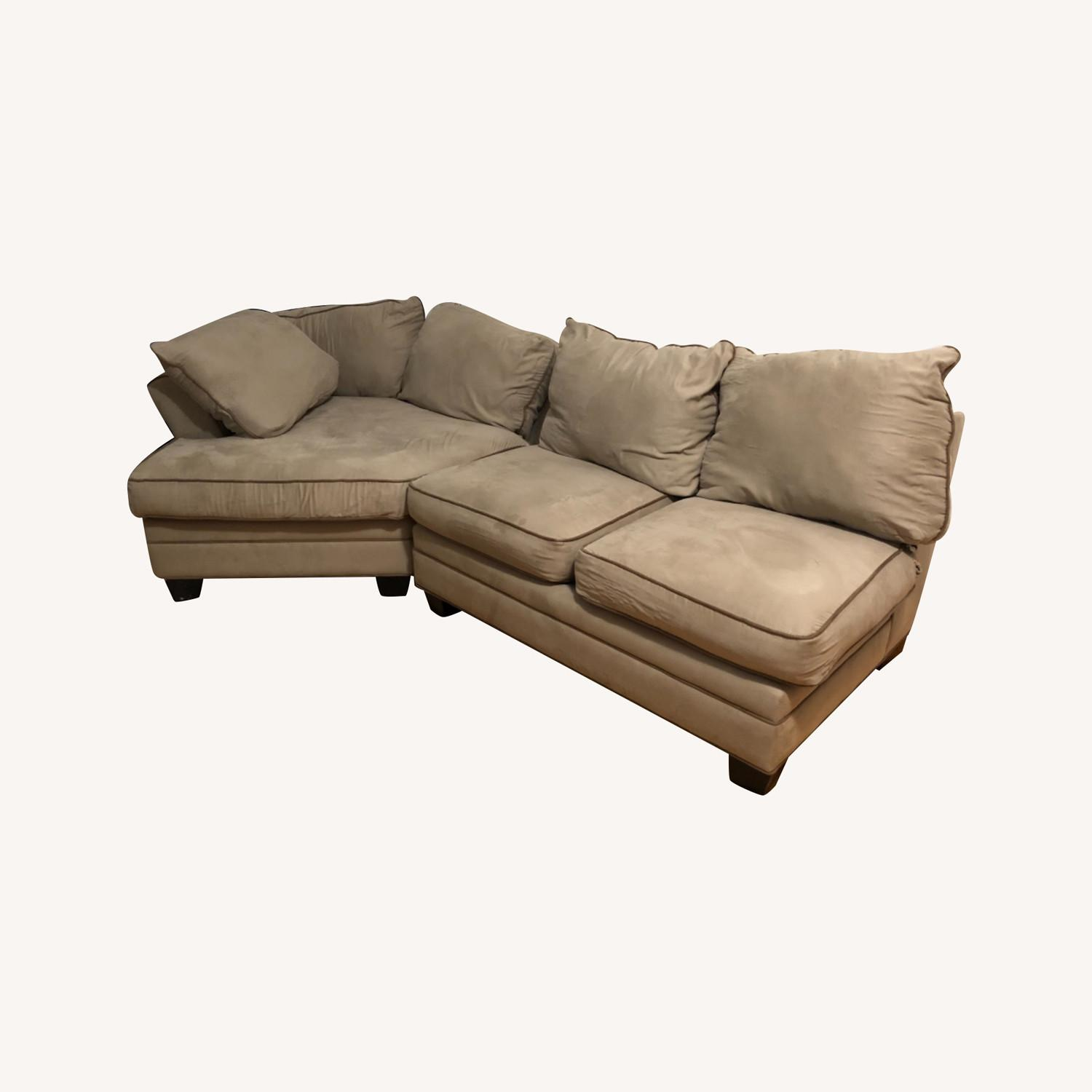Raymour & Flanigan Foresthill 2 Piece Sectional Sofa - image-0