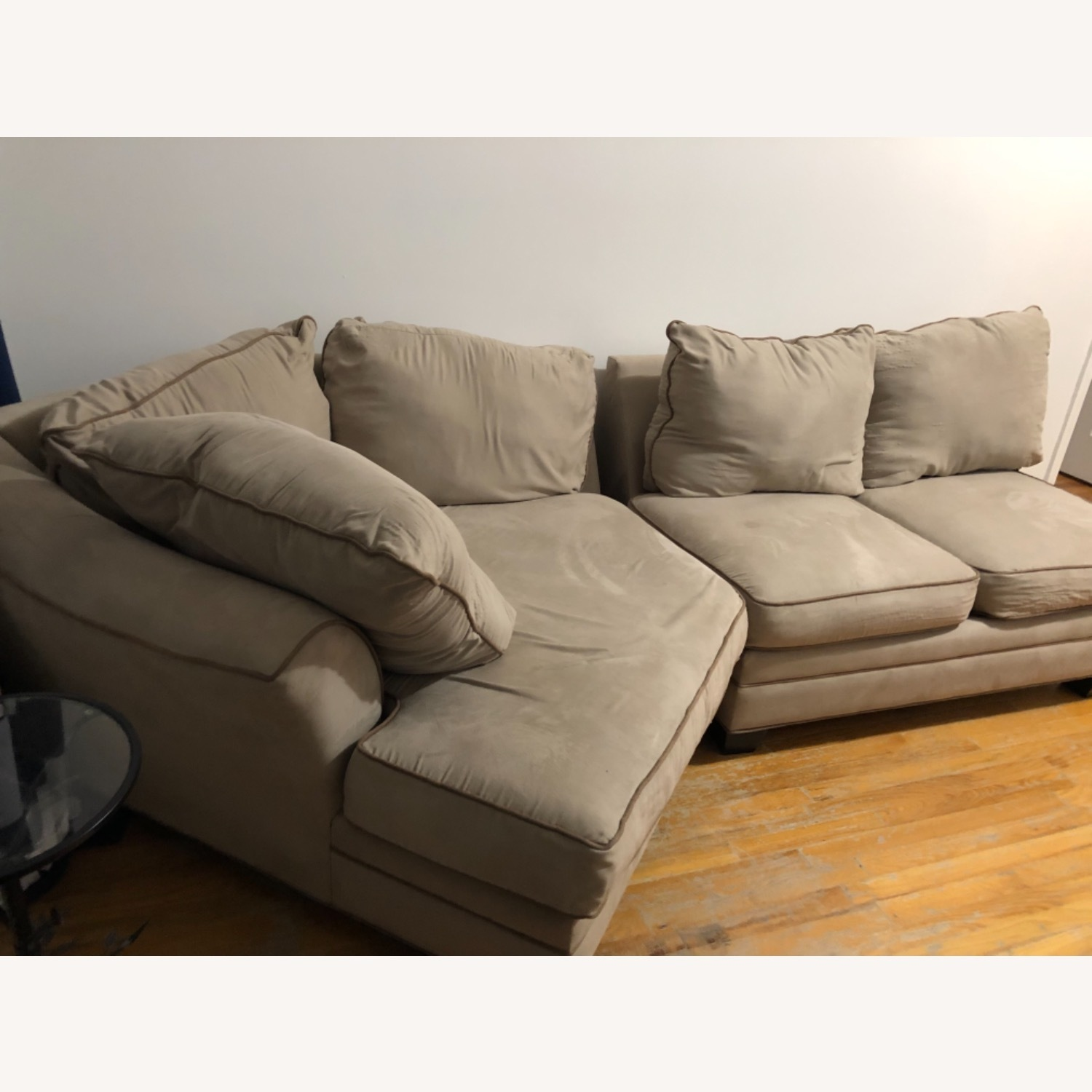 Raymour & Flanigan Foresthill 2 Piece Sectional Sofa - image-4