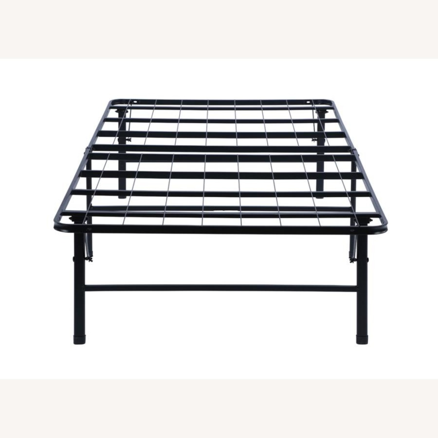 Twin XL Platform Bed In Black Powder Coated Finish - image-2