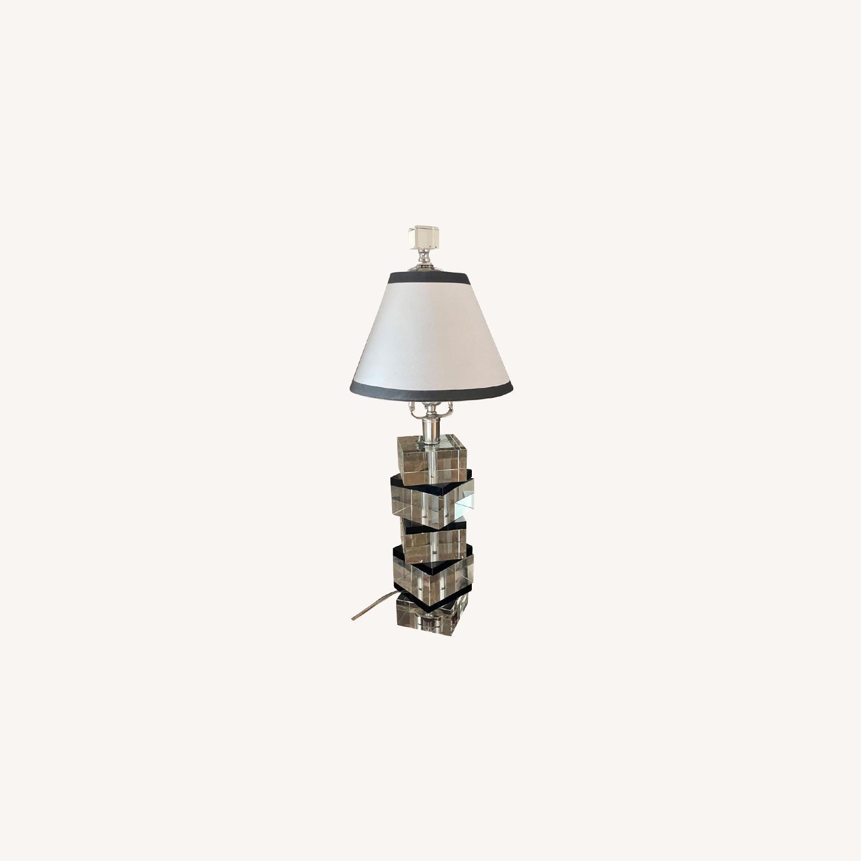 Vintage Acrylic Lamp - image-0