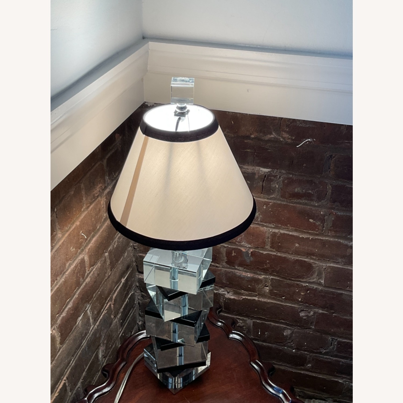 Vintage Acrylic Lamp - image-2