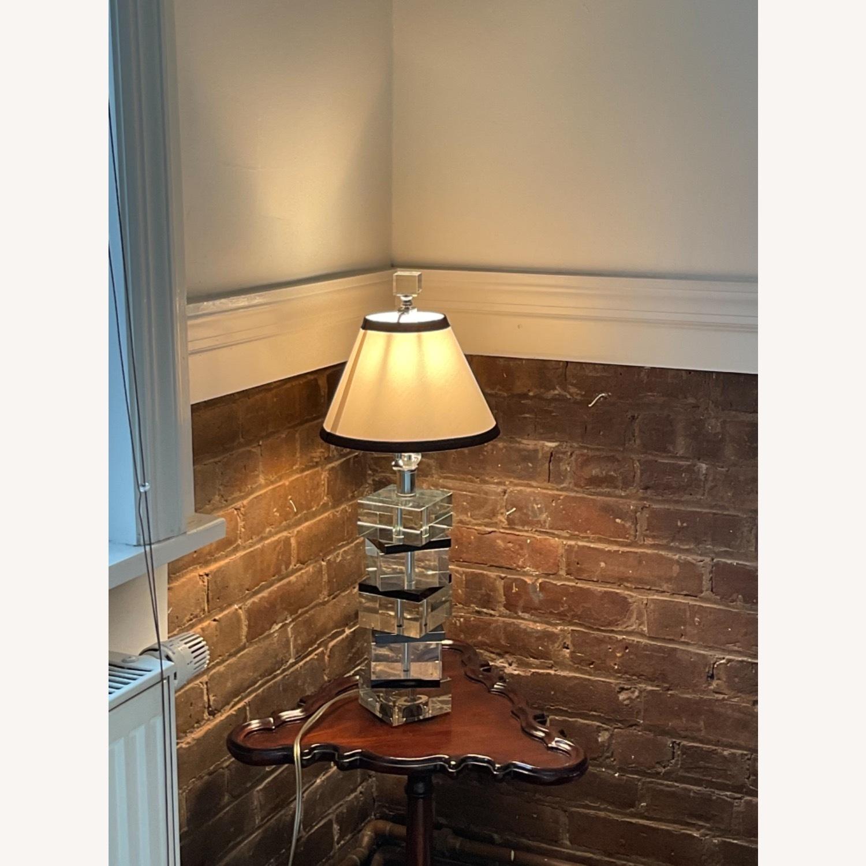 Vintage Acrylic Lamp - image-1