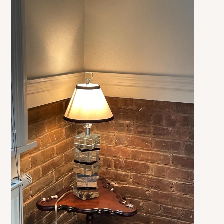 Vintage Acrylic Lamp - image-4