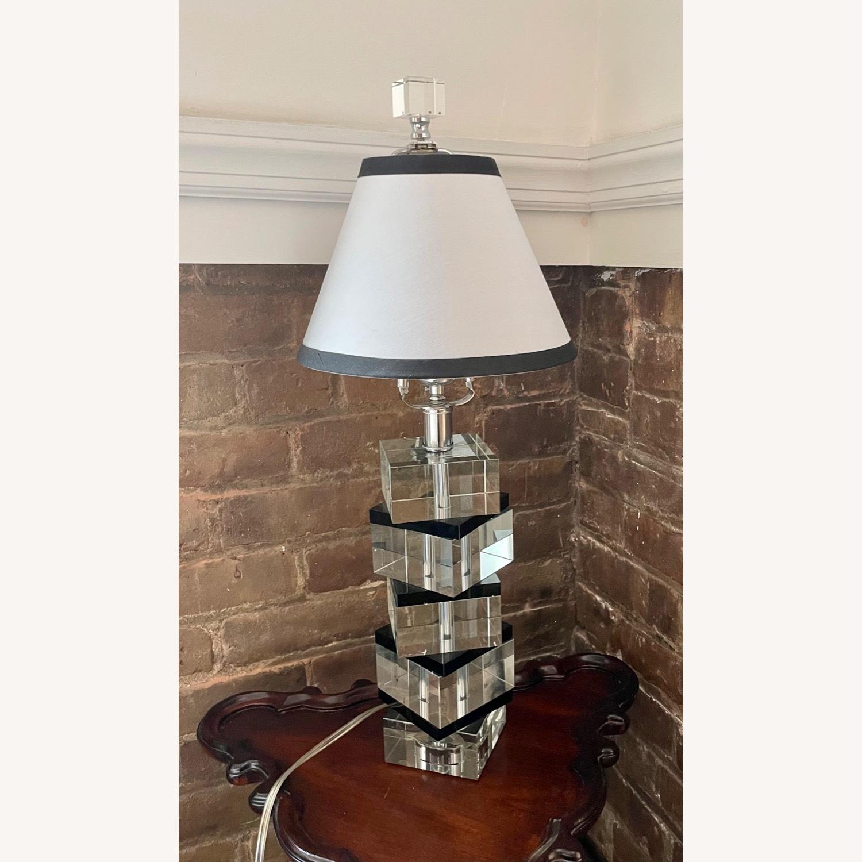 Vintage Acrylic Lamp - image-5