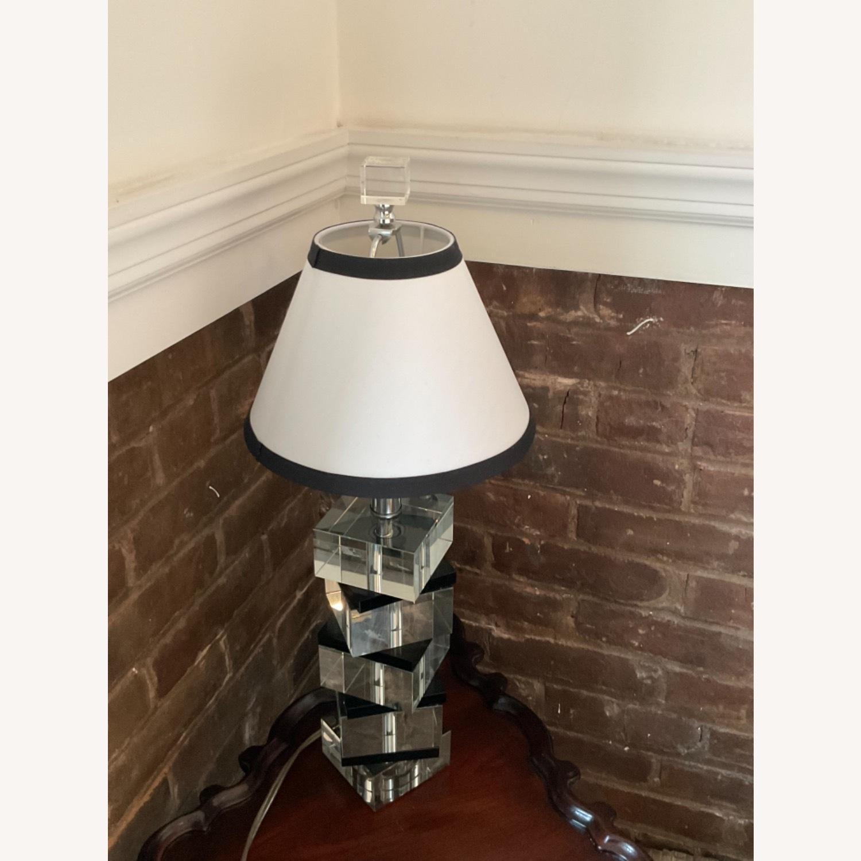 Vintage Acrylic Lamp - image-3