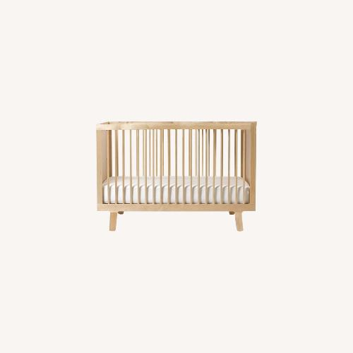 Used Oeuf Sparrow Crib + Conversion Kit for sale on AptDeco