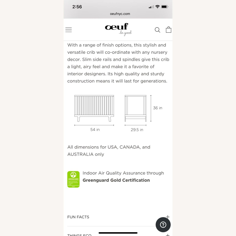 Oeuf Sparrow Crib + Conversion Kit - image-7