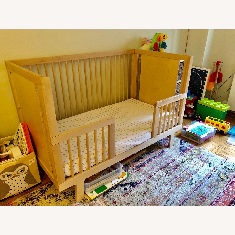 Oeuf Sparrow Crib + Conversion Kit - image-4