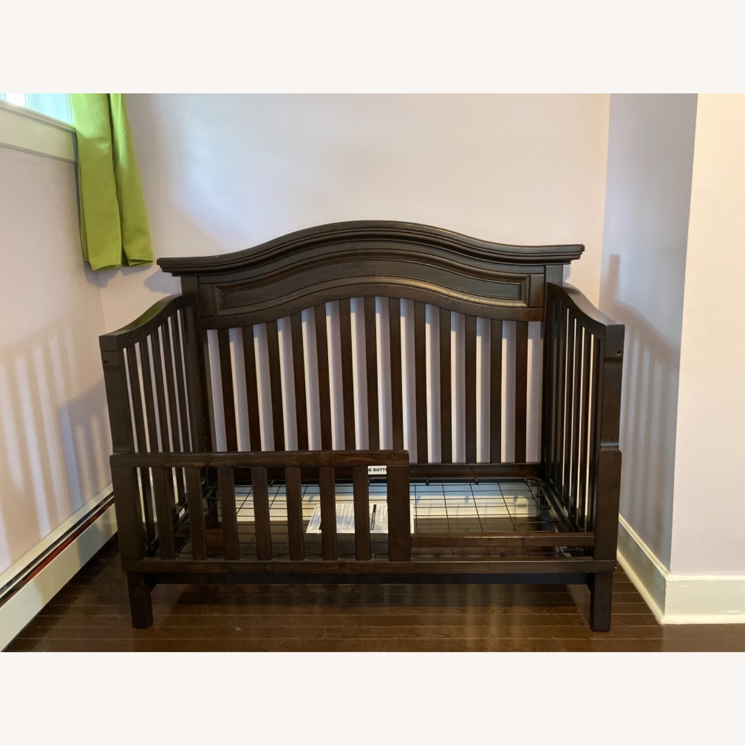 Convertible Crib Toddler Bed Full Size Bed Aptdeco