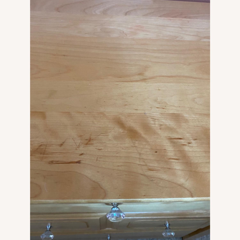 6 Drawer Natural Wood Dresser - image-6