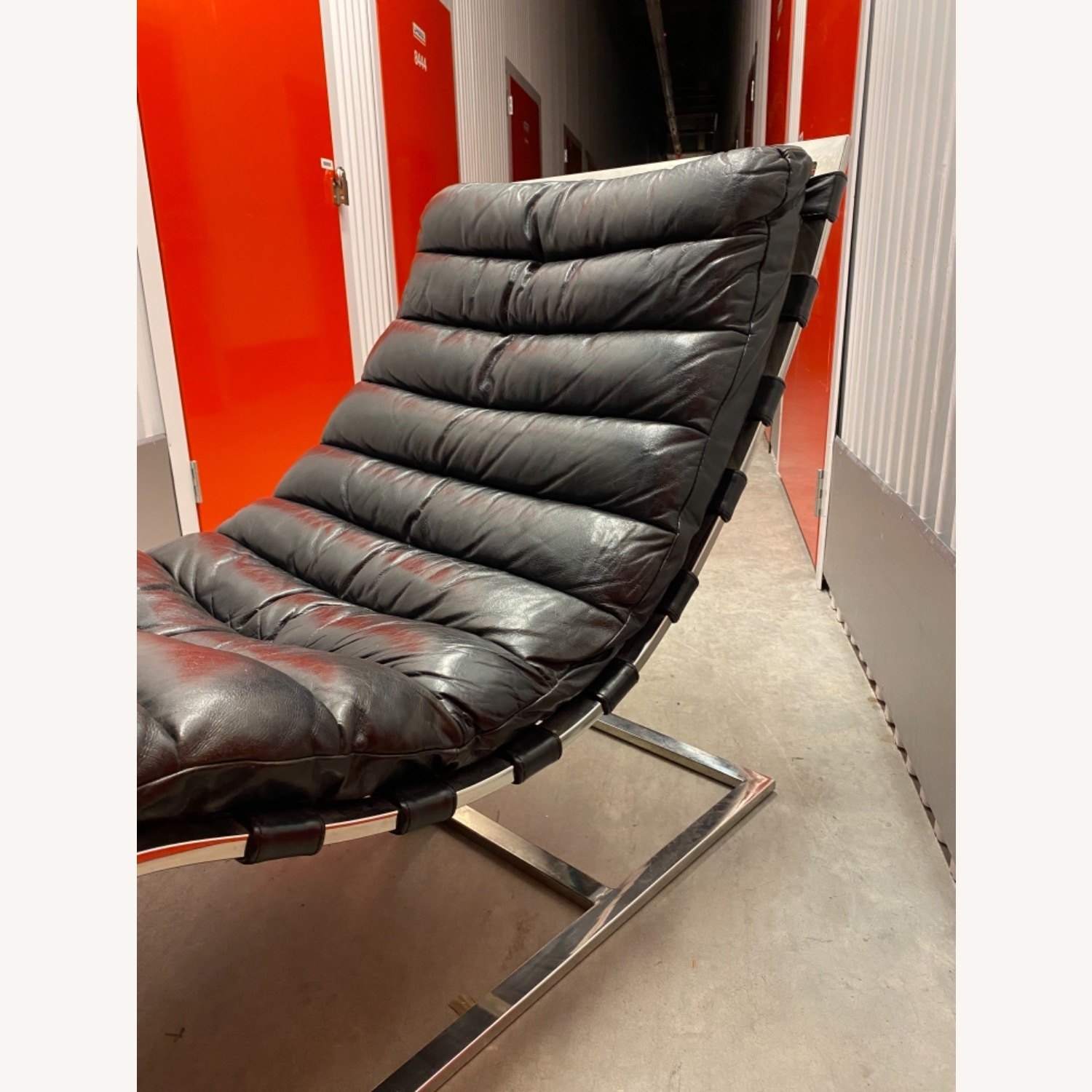 Leather Chaise Lounge by Timothy Oulton - image-1