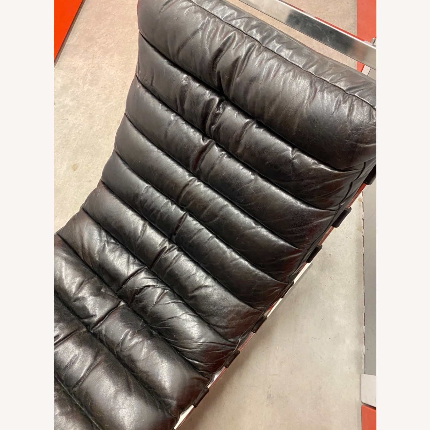 Leather Chaise Lounge by Timothy Oulton - image-2