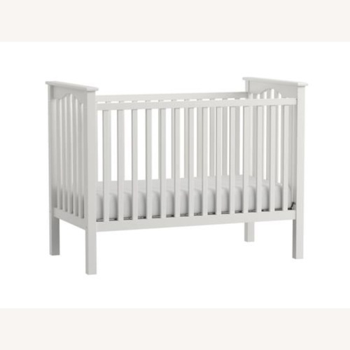 Used Pottery Barn Kendall Crib/Toddler Bed, White for sale on AptDeco