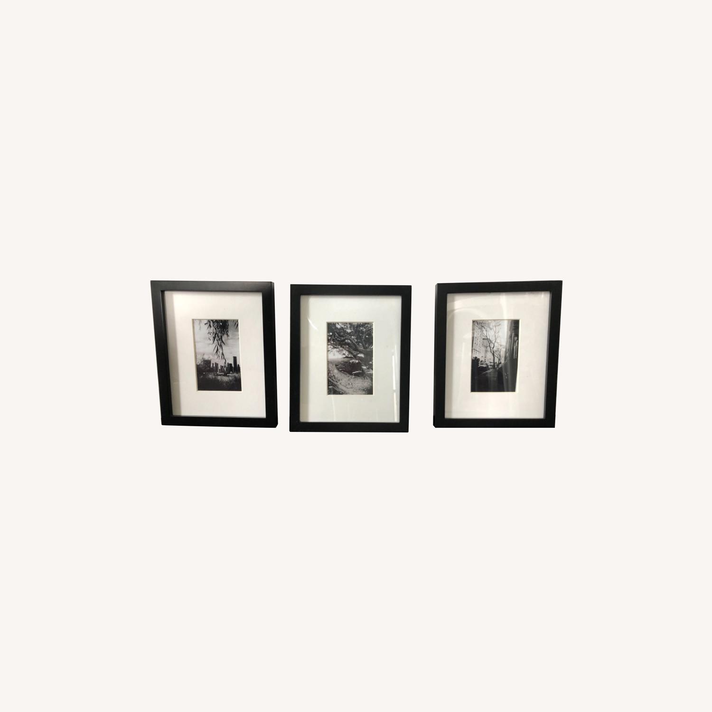 Target 3 Black Matted Frames - image-0