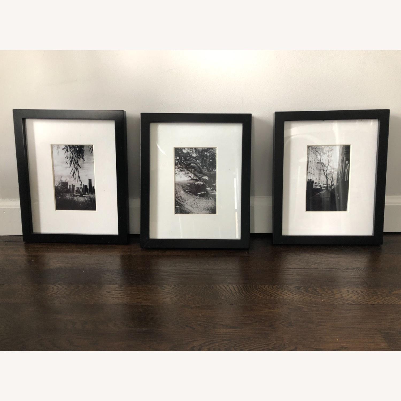 Target 3 Black Matted Frames - image-1