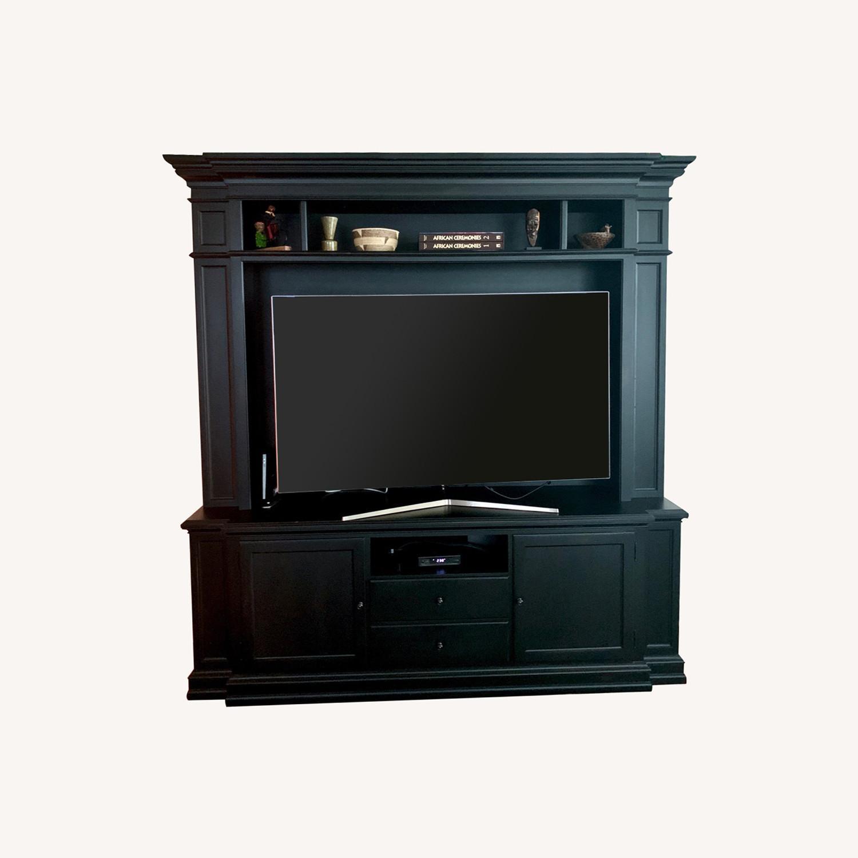 Ethan Allen Cambridge Television Video Cabinet - image-0