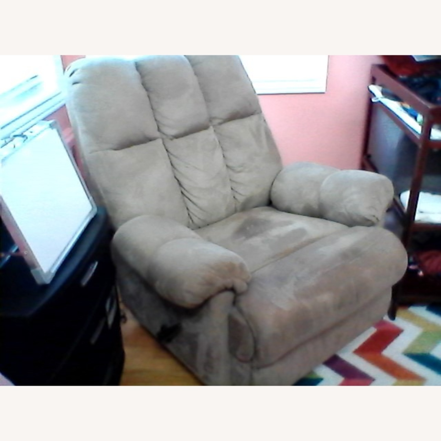 Rocking Chair Nursing and Recliner 2 in 1 - image-3