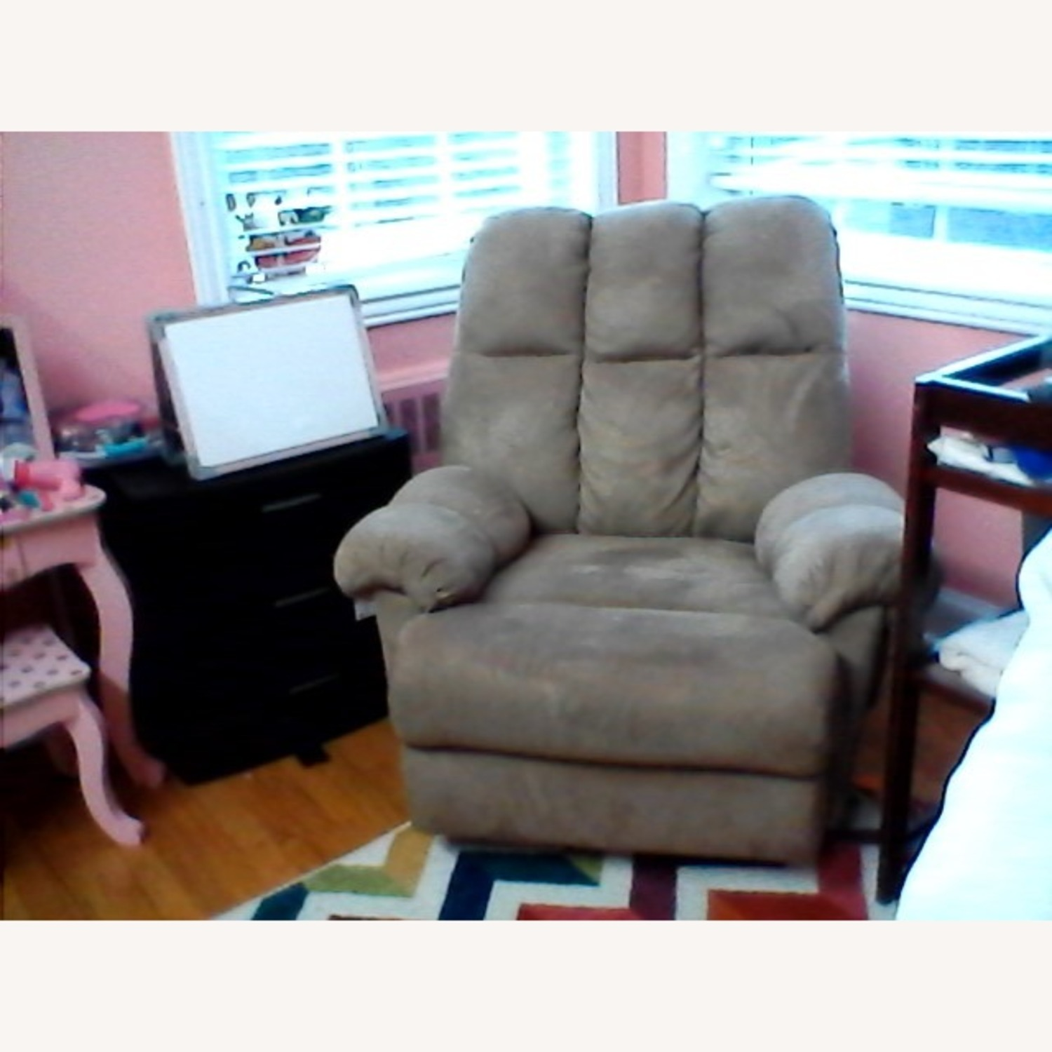 Rocking Chair Nursing and Recliner 2 in 1 - image-4