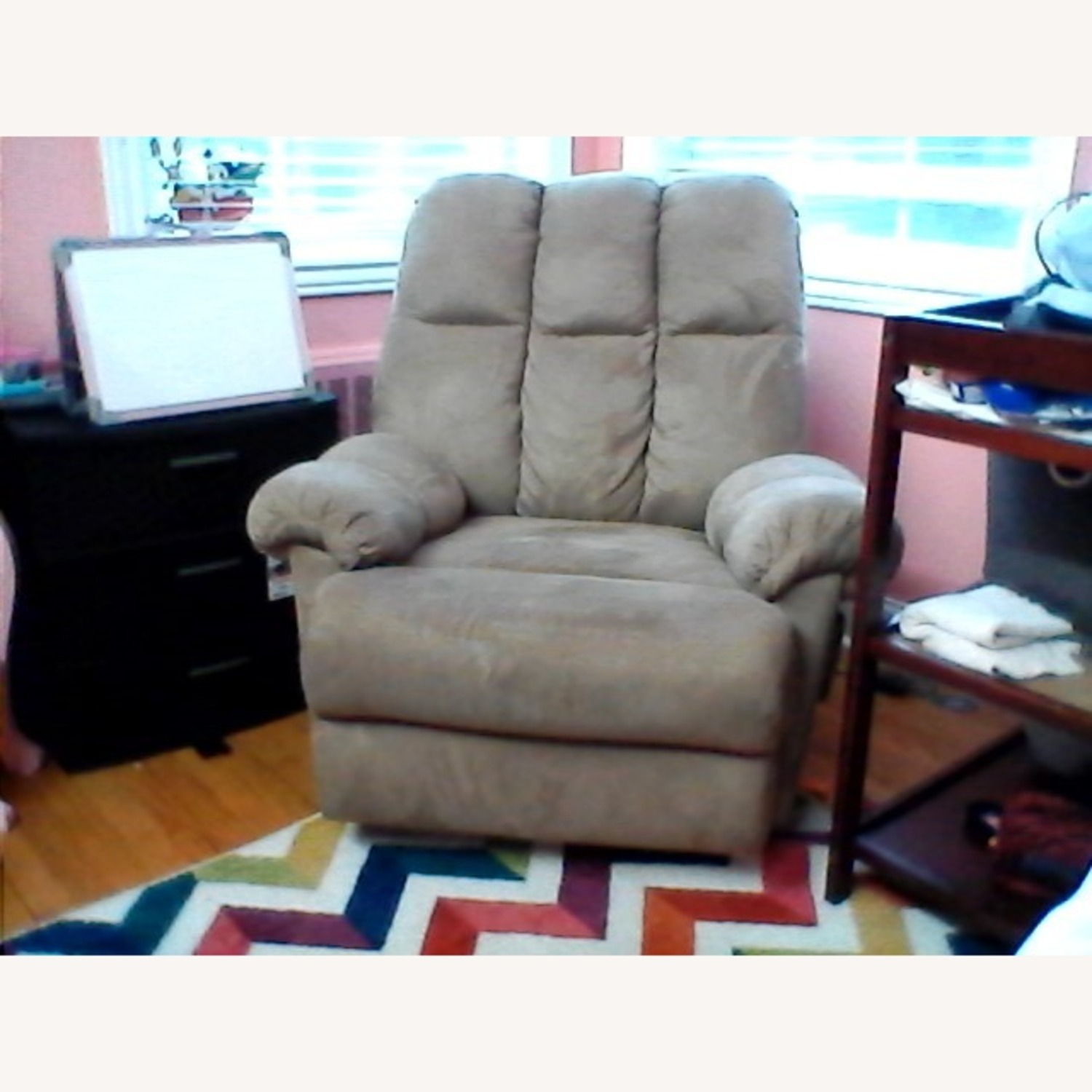 Rocking Chair Nursing and Recliner 2 in 1 - image-5
