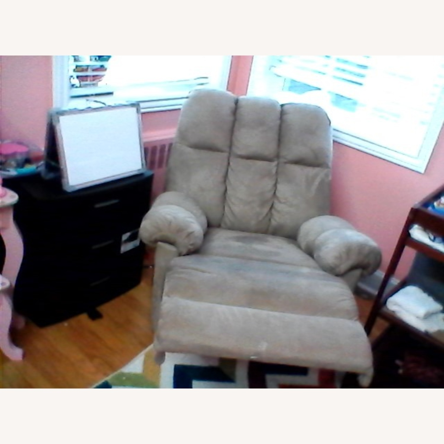 Rocking Chair Nursing and Recliner 2 in 1 - image-2