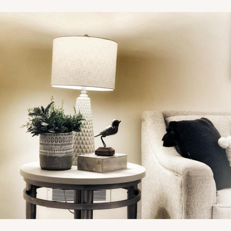 Modern Ceramic Desk Table Lamp Set of 2 - image-2