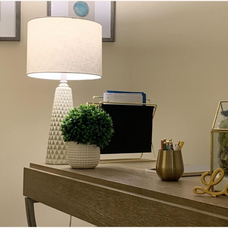 Modern Ceramic Desk Table Lamp Set of 2 - image-3