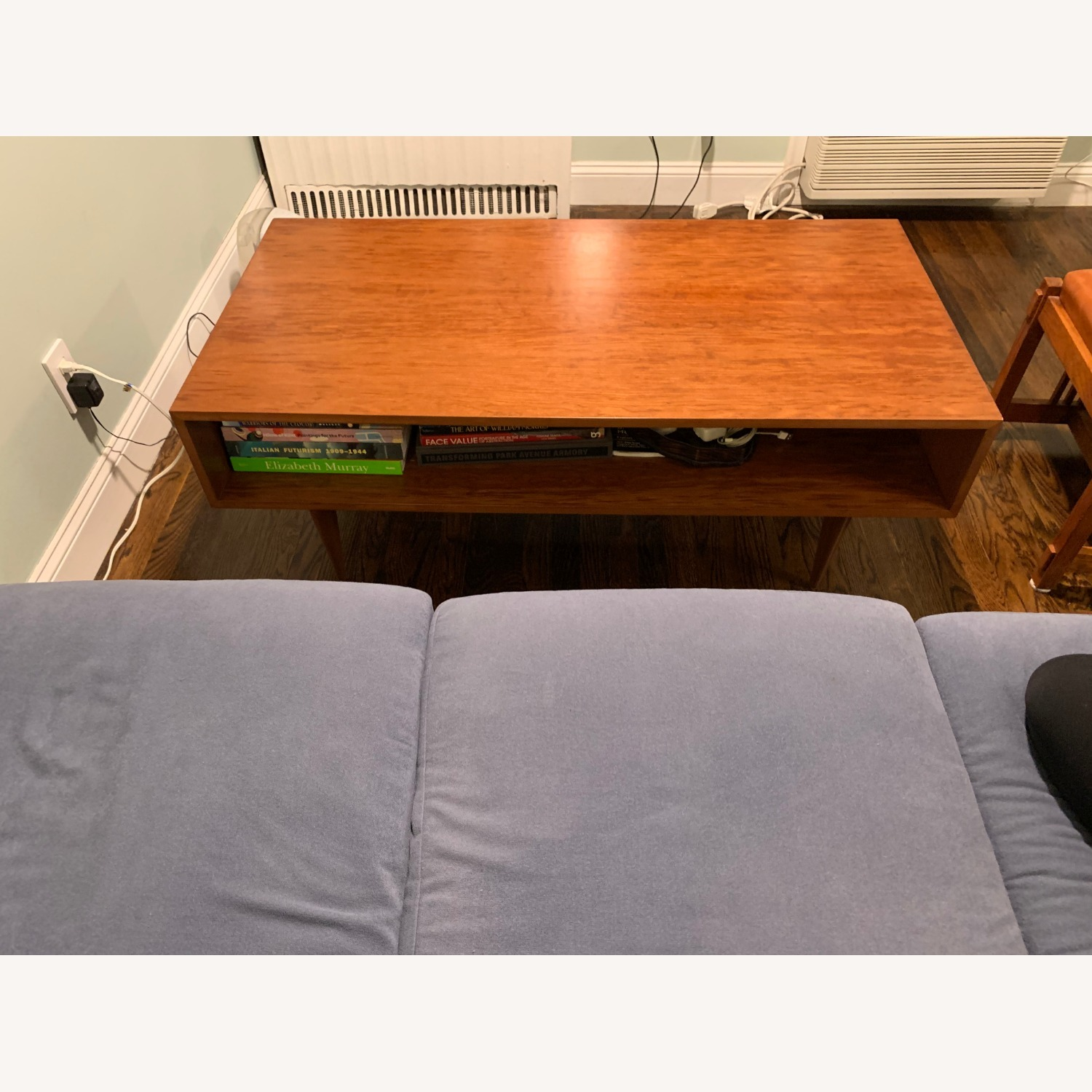 Urbangreen Furniture Coffee Table Cherry Wood Toffee Color - image-2