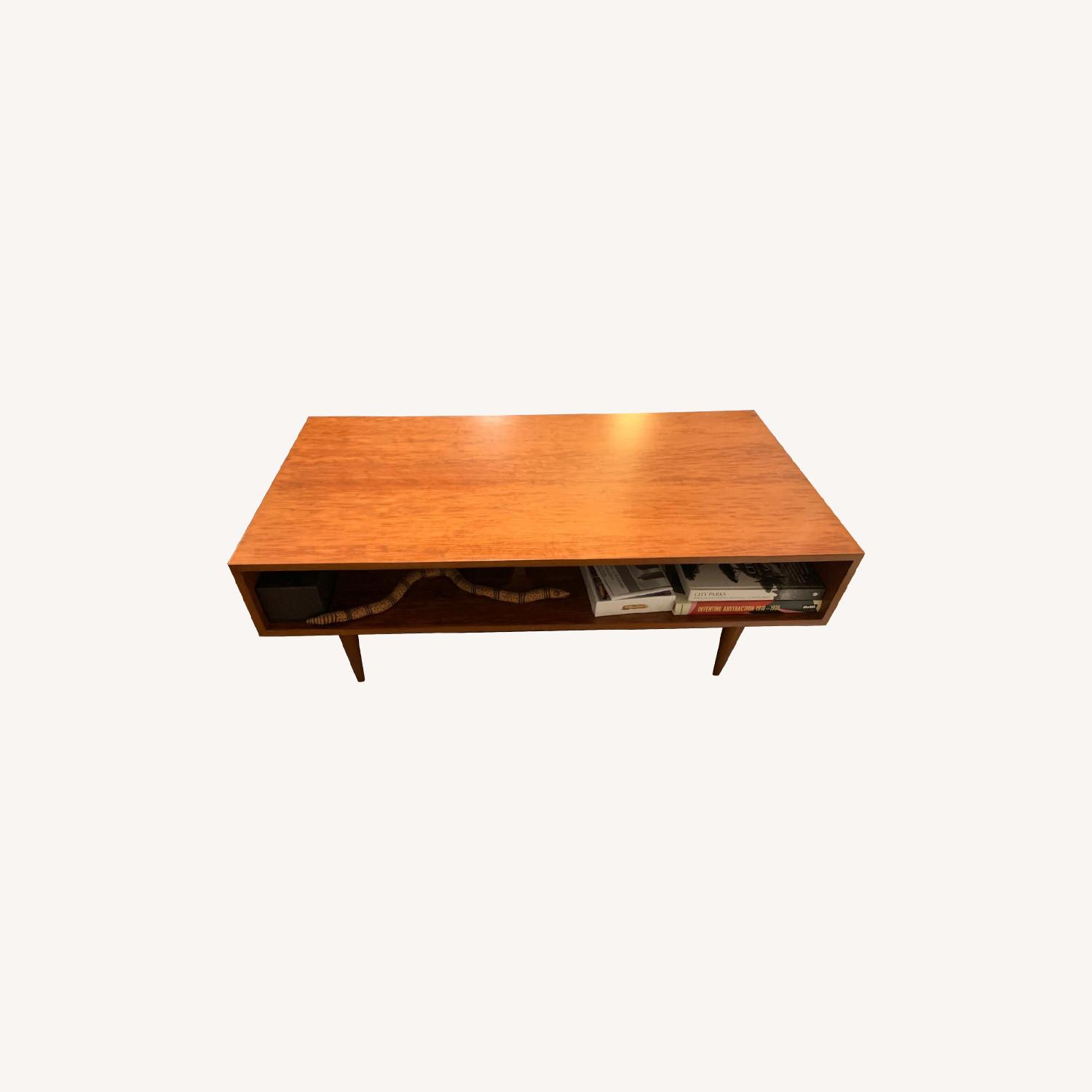 Urbangreen Furniture Coffee Table Cherry Wood Toffee Color - image-0