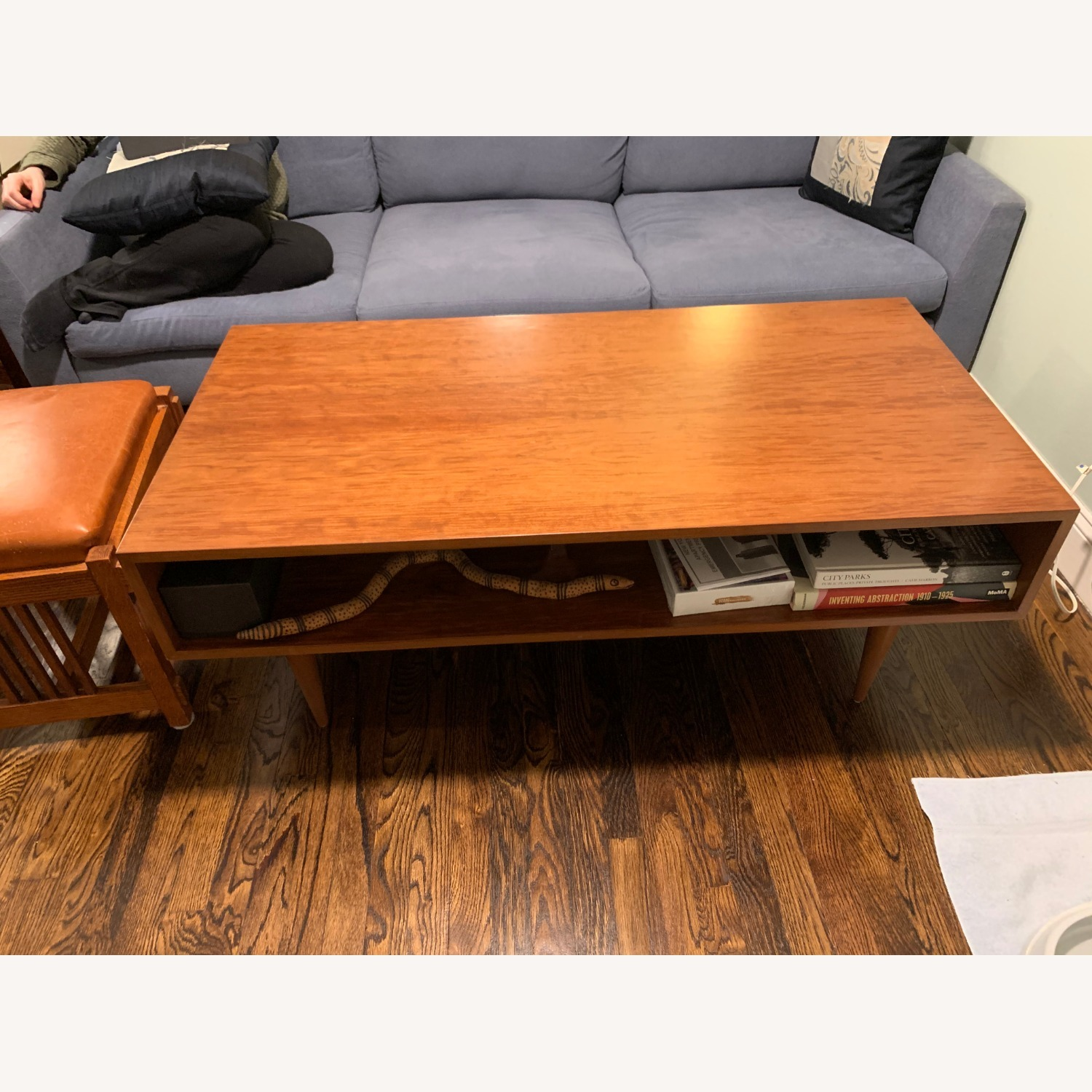 Urbangreen Furniture Coffee Table Cherry Wood Toffee Color - image-1