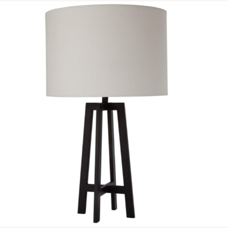 Mid Century Modern Black Metal Desk Table Lamp - image-1