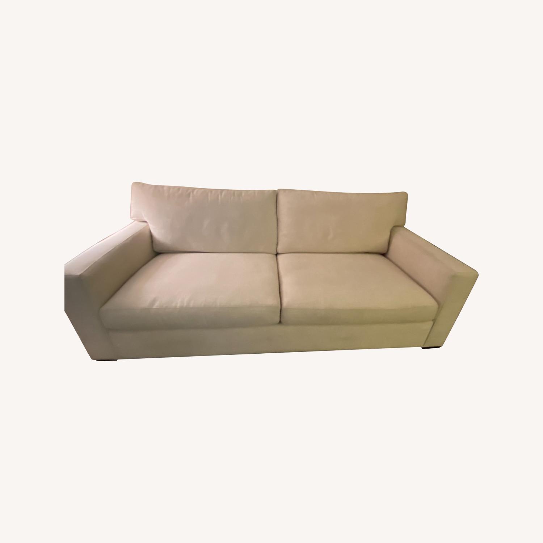 Crate and Barrel Sleeper Sofa - image-0