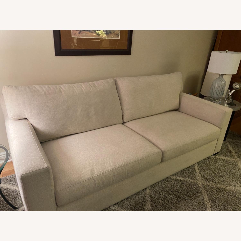 Crate and Barrel Sleeper Sofa - image-3
