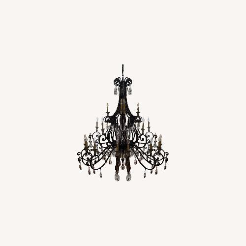 Used Oil Rubbed Bronze Candelabra Chandelier for sale on AptDeco