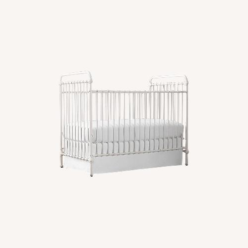 Used Restoration Hardware Kennedy Iron Crib for sale on AptDeco