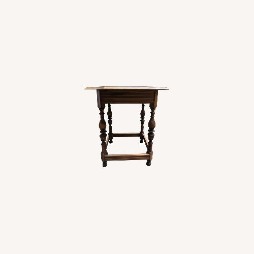Used Oak Octogonal Dining Table for sale on AptDeco