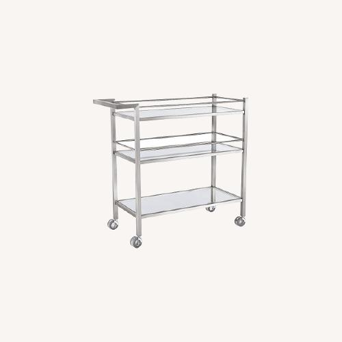 Used Room & Board Bar and Storage Cart for sale on AptDeco