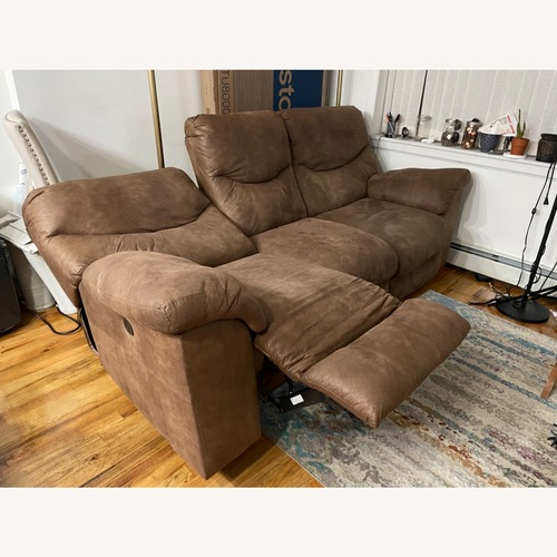 Used Ashley Furniture Reclining Sofa for sale on AptDeco
