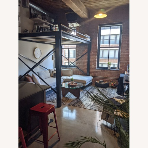 Used Metal Loft Bed for sale on AptDeco