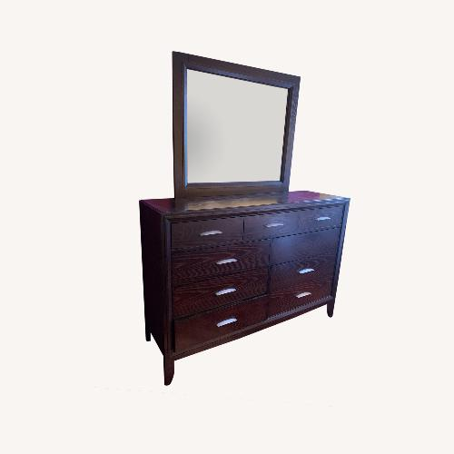 Used Macy's Dresser with Mirror for sale on AptDeco