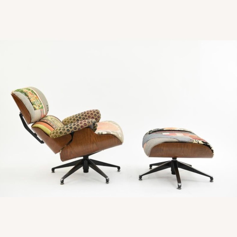 Saarinen & Eames Bokja Couture Eames Style Lounge - image-2