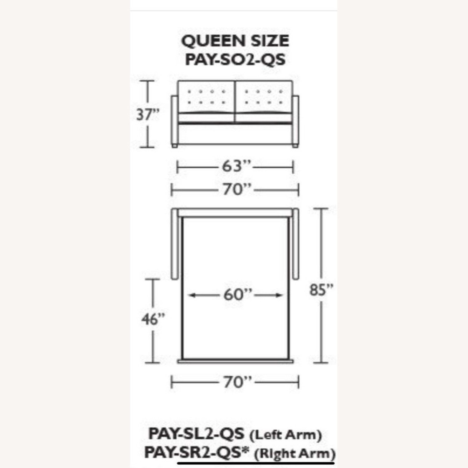 American Leather Queen Comfort Sleeper - image-6
