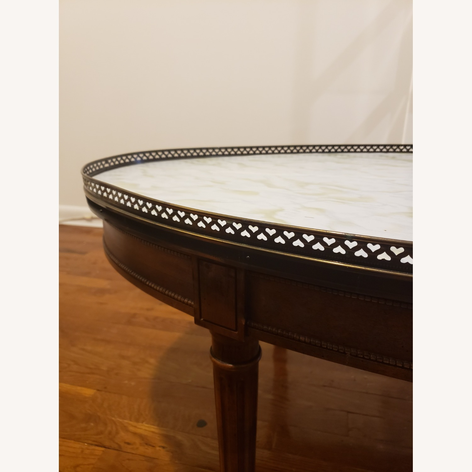 Baker Oval Wood Coffee Table - image-3