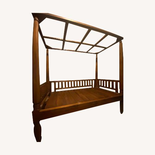 Used Taylor Made Custom Furniture Wood Daybed for sale on AptDeco