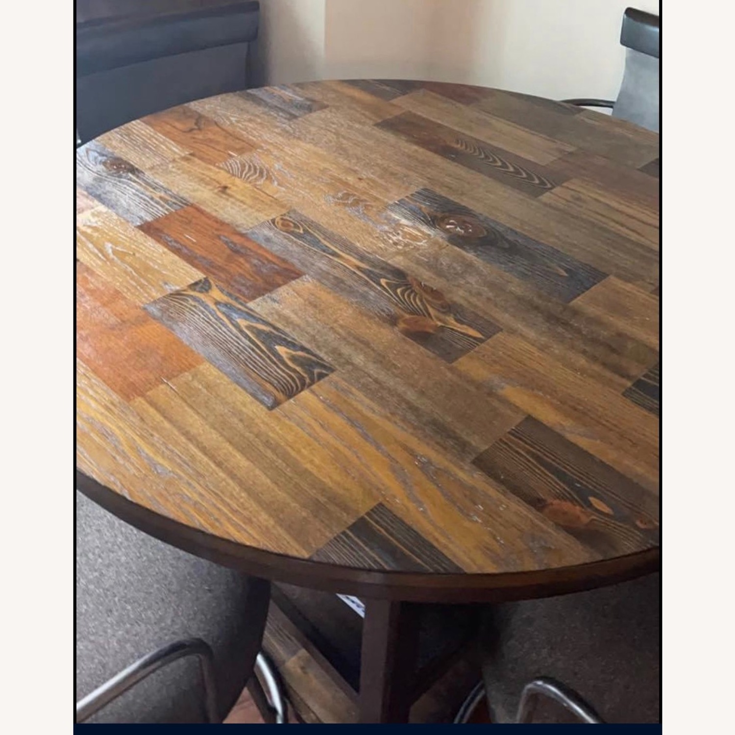 High Top Bistro Table with 4 Chairs - image-3