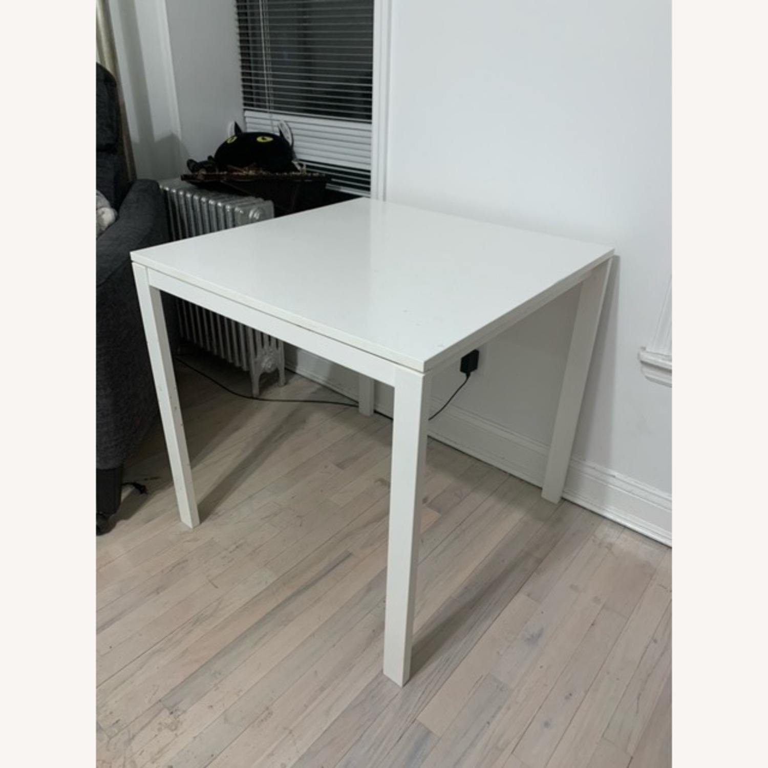 IKEA Dining Table and 2 Stools - image-2